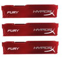 Dissipador Memória Ram Ddr2 Ddr3 Ddr4 Fury Hyperx / 3pç -