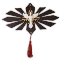 Divino Espírito Santo em MDF Com Resina Adorno Enfeite de Parede - Artesanato Aparecida