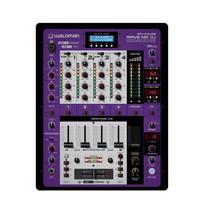 Dj Mixer Waldman RDJ-5.2USB com 5 Canais MP3 USB e Interface In Out -