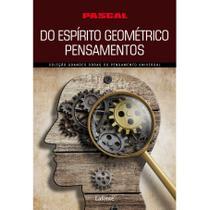 Do espírito geométrico pensamentos (pascal) - Lafonte