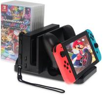 Dobe Multi Function Charging Stand for Nintendo Switch video game -