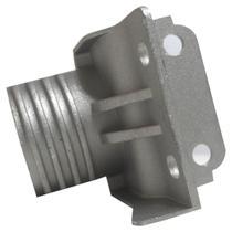Dobradiça inferior esquerda refrigerador electrolux 72001225 -