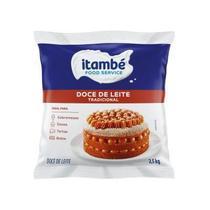 Doce de Leite 2,5kg Itambe -