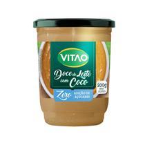 Doce de leite com Coco Zero Açúcar 200g - Vitao -