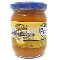 Doce De Leite Diet 210g - Zero Adição De Açúcar Reserva de Minas -