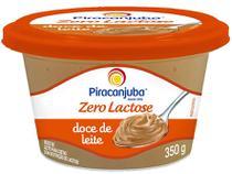 Doce de Leite Original Zero Lactose Piracanjuba - 350g