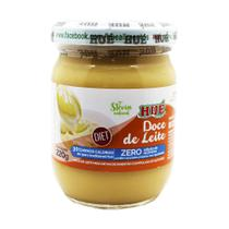 Doce de Leite Puro Diet Hué (Sem Adição de Açúcares) Sem Glúten Pote 220g -