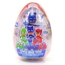 Doce e Figura Pj Masks Ovo Big Toy Unitario Sortido Dtc 4999 -