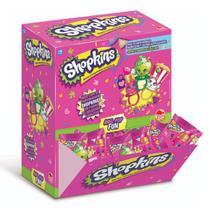 Doce Pirulito Shopkins Anel Pop Caixa com 32 Sortidos 4073 - Dtc