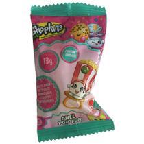 Doce Pirulito Shopkins Anel Pop Fun Unitario Sortido 4073 - Dtc