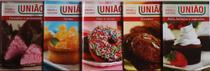 Doces de Sucesso União Coleção- Kit com 5 Livros - Receitas de Sobremesas e Doces Fáceis e Rápidos - Gold