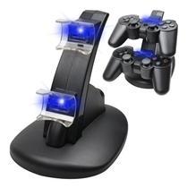 Dock Carregador de Joystick Ps3 Play 3 Controle Compatível - Power