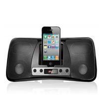 Dock station mp3 para iphone/ipod usb/sd/p2 preta sp162 multilaser -