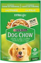 Dog Chow Ração Úmida para Cães Filhotes Frango ao Molho 100G -