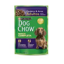 Dog Chow Sache Adulto Racas Pequenas Cordeiro E Arroz - 100 Gr - Nestlé Purina -