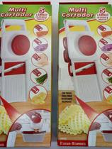 Dois Fatiador Para Batata Legumes Cortador Picador Ralador Manual - Keita