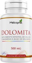Dolomita 60 cáps 500 mg - Melcoprol -
