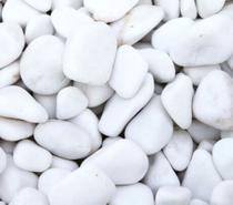 Dolomita Pedras Brancas Seixo p/ Jardim 2 KG - Zoe E Charis