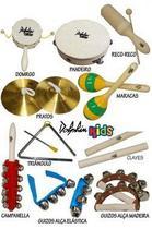 Dolphin Bandinha C/10 Instrumentos Infantil C/ Bolsa 8458 -