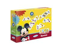 Dominó A Casa Do Mickey Mouse Disney 28 Peças - Xalingo -