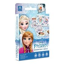 Dominó de Cartas Frozen  + DVD Frozen - Combo
