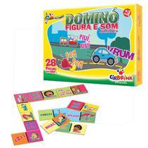 Domino figura e som - onomatopeia - Ciabrink