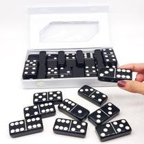 Domino Profissional preto Grosso Jogo Resistente a arranhões - Euclides Jordao