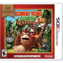 Donkey Kong Country Returns 3d - Nintendo 3DS -
