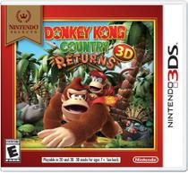 Donkey kong country returns (nintendo select) - 3ds -