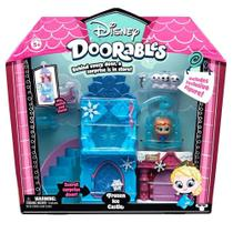 Doorables Disney Playset Castelo Gelo Da Frozen Com Personagem DTC -