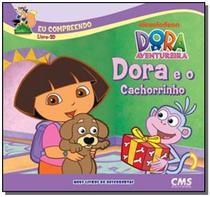 Dora e o cachorrinho - livro 3d - Cms -