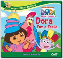 Dora faz a festa - livro 3d - colecao dora - meus - Cms -