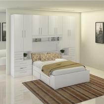 Dormitório De Casal Sem Cama 1223S Branco - Móveis Ilan