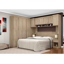 Dormitório Modulado Casal Modena 10 Portas Demobile 7700 -
