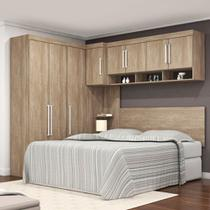 Dormitório Modulado Casal Modena 8 Portas Demobile 77003 -