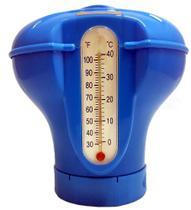 Dosador de Cloro Flutuante com Termômetro - Sodramar -