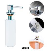 Dosador de sabão liquido Inox para Embutir 500ml WT-T08 - Westing -