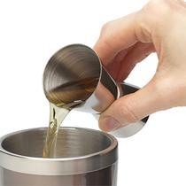 Dosador Duplo Drinks Inox 25ml e 50ml Copo Medidor Bebidas - Yazi