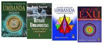 Doutrina E Teologia De Umbanda + Rituais Umbandistas + Livro de Exu + As Sete Linhas De Umbanda - Editora Madras
