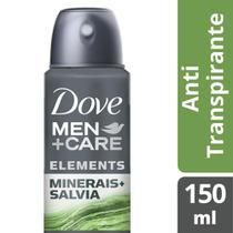 Dove Men + Care Aerosol Antitranspirante Minerais e Sálvia 150ml -