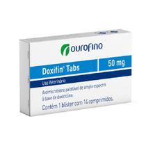 Doxifin tabs 050 mg com 14 comprimidos - Marca