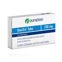 Doxifin tabs 200 mg com 12 comprimidos - Marca