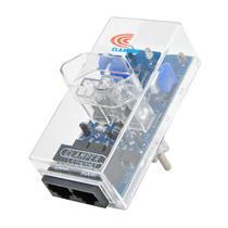 DPS Clamper Energia + Ethernet Proteção contra Surtos e Raios na Rede Elétrica e Lan RJ45 10A Bivolt -