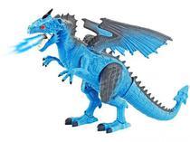 Dragão de Gelo THORN Controle Remoto Simula Fogo Luz e Som DG051 - Polibrinq