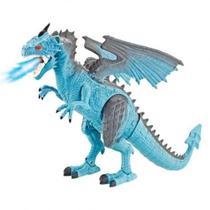 Dragão Infantil De Controle Remoto com Som E Luz - Polibrinq -