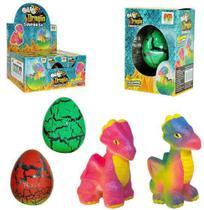 Dragao ovo surpresa cresce na agua sortidos colors 6cm na caixa - Dm Brasil -