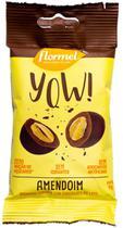 Drageado YOW! Amendoim Coberto c/ Chocolate ao Leite 40g - Flormel -
