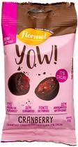 Drageado YOW! Cranberry Coberto c/ Chocolate 72% Cacau 40g - Flormel -