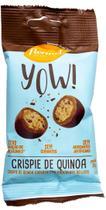 Drageado YOW! Crispie de Quinoa Coberto c/ Chocolate ao Leite 35g - Flormel -