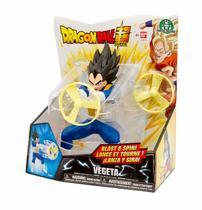 Dragon ball super boneco vegeta lançador de circulo de fogo - Ban dai